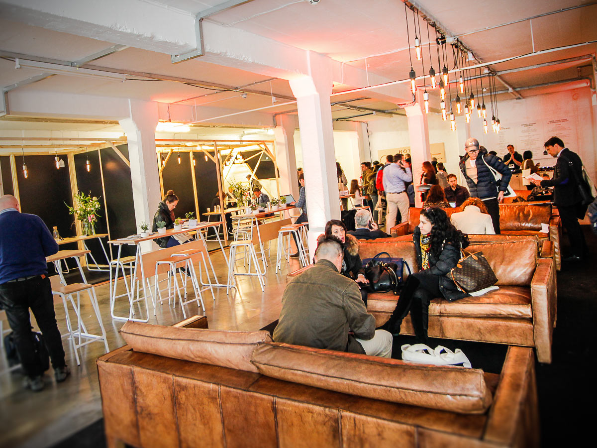 London coffee Festival VIP suite design
